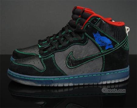 Nike SB Dunk High Premium - Twin Peaks