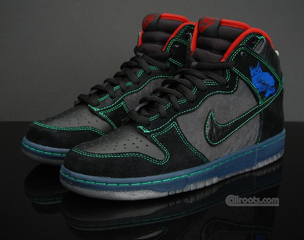 Nike SB Dunk High Premium - Twin Peaks