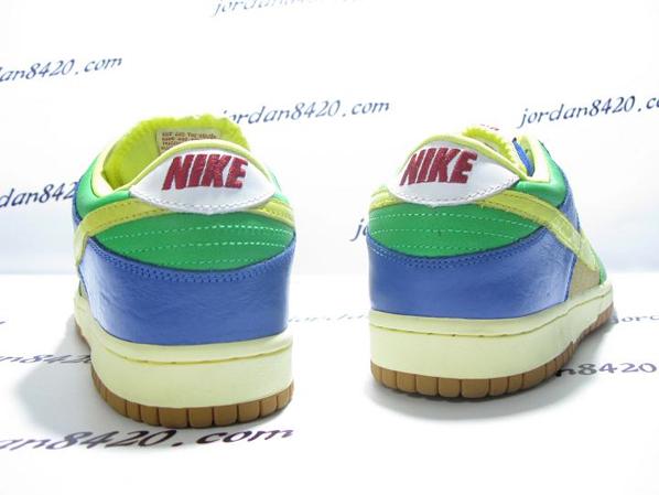Nike SB Dunk Low Premium Yellow Blue Green