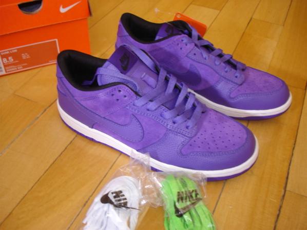 Nike Sportswear Dunk Low Purple Purple