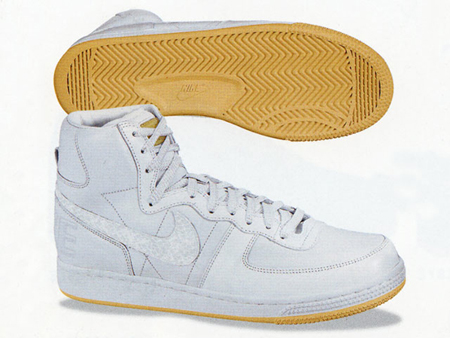 Nike Terminator High Lux White Gold