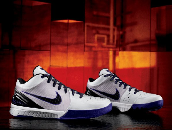 Nike Unveils The Zoom Kobe IV (4) White Purple Black
