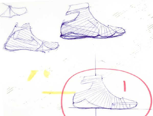 Nike Unveils The Zoom Kobe IV (4) Sketch
