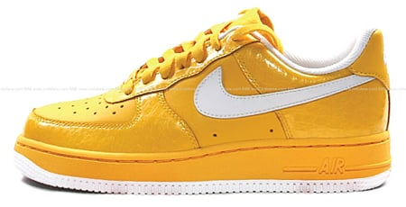 Nike Womens Air Force 1 - Mica / Varsity Maize