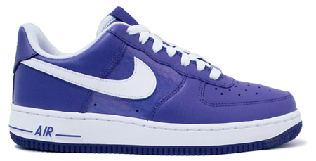 Nike Womens Air Force 1 - Varsity Purple / White