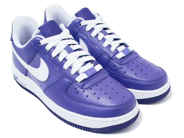 Nike Womens Air Force 1 - Varsity Purple / White