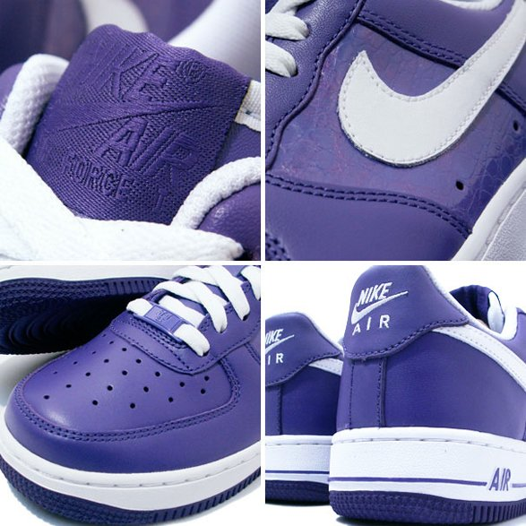 Nike Womens Air Force 1 - Varsity Purple / White | SneakerFiles