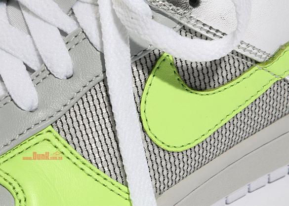 Nike Womens Dunk Low Premium - Neutral Grey / Citron / White