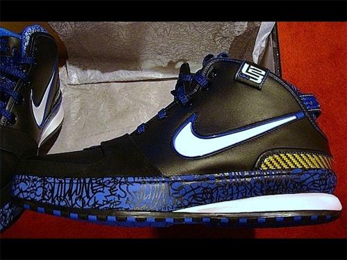 Nike Zoom Lebron VI (6) Black White Varsity Royal Varsity Maize