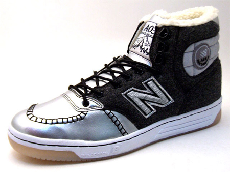 Optimystik x New Balance A03 Silver Black