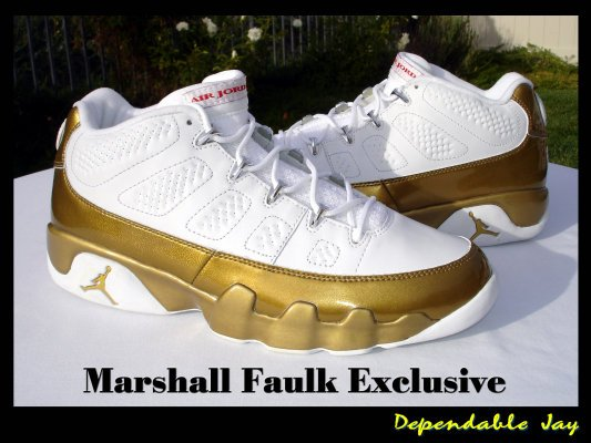 Player Exclusive Rewind:  Marshall Faulk's Air Jordan IX (9)!