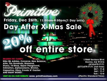 Primitive Day After Christmas Sale