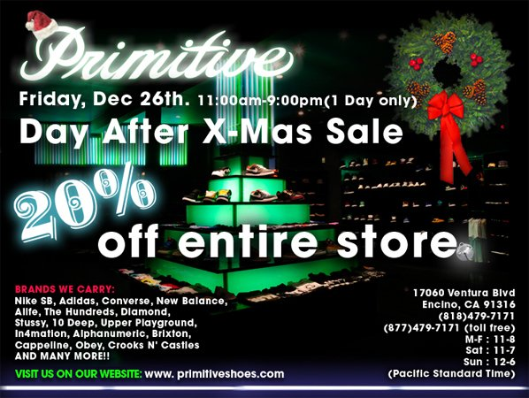 primitive day after christmas sale - Day After Christmas Ads