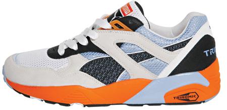 Puma 698 - Orange / Blue