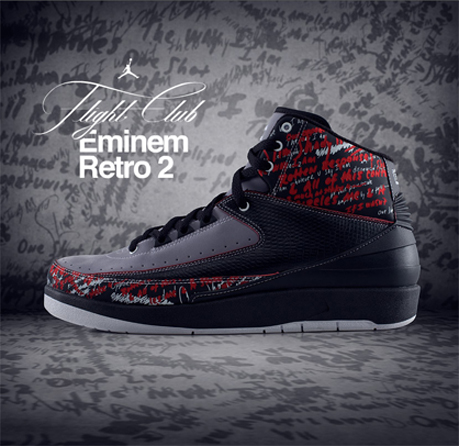 Air Jordan 2 (II) - Eminem - The Way I Am - Flightclub Exclusive