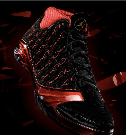 Update: Air Jordan XX3 (23) Premier - Black / Varsity Red