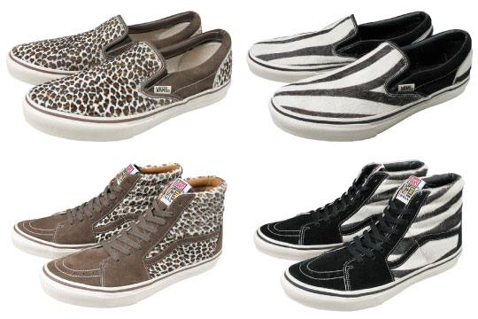 "Eco-Friendly: Vans ""Animal"" Series!"