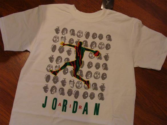 A Tribe Called Quest x Air Jordan T-Shirts