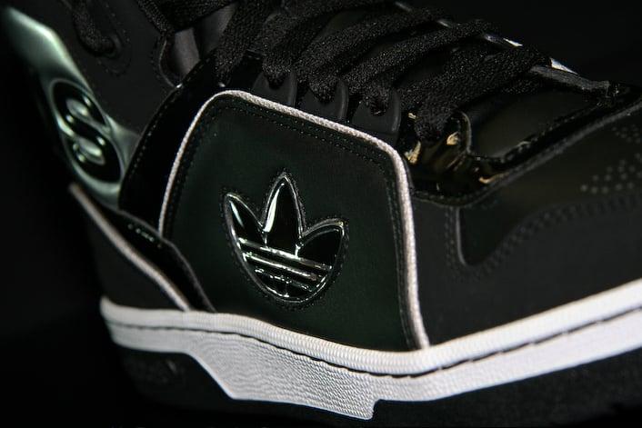 Adidas Ecstasy Mid - Black / Black / Metallic Silver