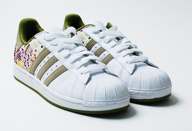 adidas originals 60 years of soles and stripes color vision superstar