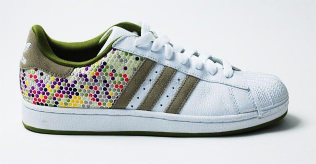 Adidas Superstar Colored Stripes