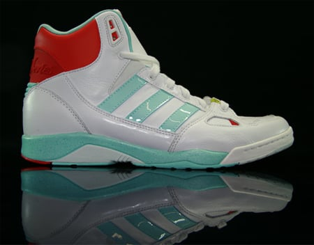 adidas Torsion Sleek - White / Matt Azure / Red