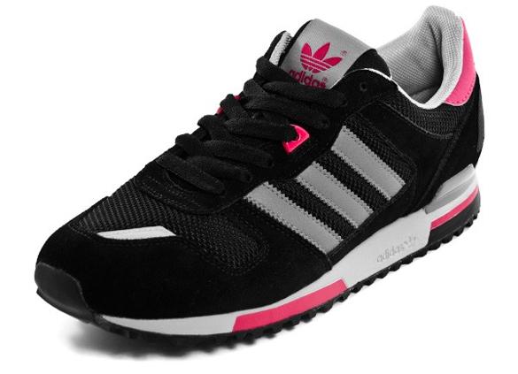 adidas ZX 700 - Black / Grey / Pink