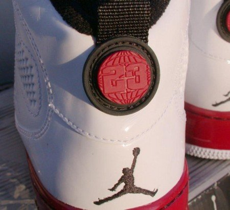Air Jordan Force IX (AJF 9) Fusion - White - Red