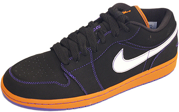 Air Jordan I (1) Low Phat - Suns - Championship Pack