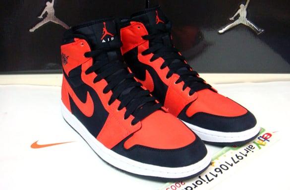 Air Jordan 1 Black Orange