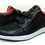 Air Jordan I (1) Retro Low Velcro – Black / Max Orange