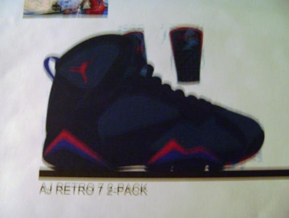 Air Jordan Retro VII (7) - Sixty Plus Pack
