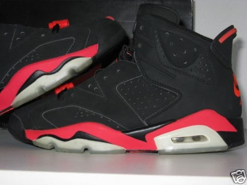 Air Jordan VI (6) Retro - Black   Infrared Sample  b085d42e6