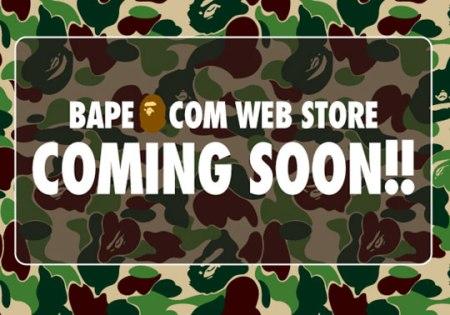 Bape Web Store Announced