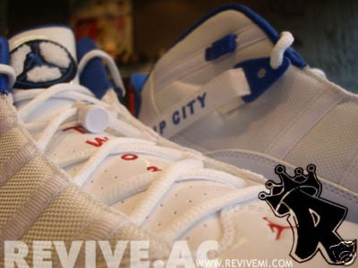 Richard Hamilton's Air Jordan 6 Rings Player Exclusive White/Royal Blue/Varsity Red