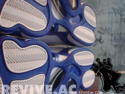 Richard Hamilton's Air Jordan 6 Rings Player Exclusive White/Royal Blue/Varsity Red