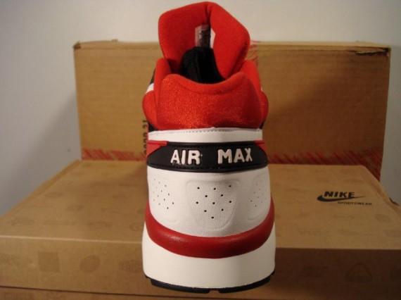 Air Max Classic BW - Black - Red - White