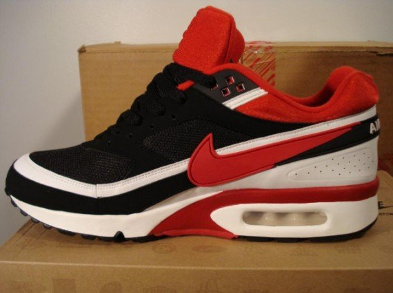 Air Max Classic BW Black Red White | SneakerFiles