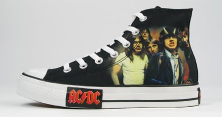 Converse Music Collection Preview | ACDC & Metallic