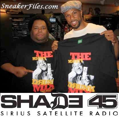DJ Lord Sear and rapper Common on Eminem's Shade 45 (Sirius XM)