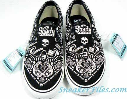 Vans Syndicate Shady Records Eminem Exclusive