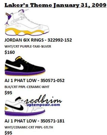 "Jordan Brand ""Lakers and Blazers"" Theme Releases"