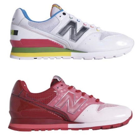 New Balance Spring 2009 996 Candy Pack
