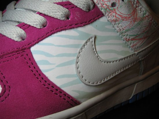 Nike 6.0 Womens Dunk Low - UV Glow