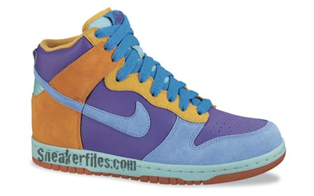 quality design ac5d1 746a6 Nike 6.0 Womens Spring 2009 - Dunk High  Blazer Mid