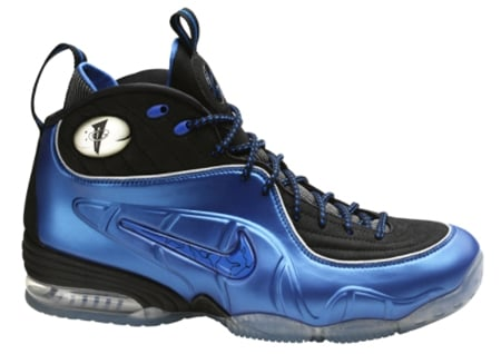 Nike Air Foamposite One Penny Hardaway Shoes Blue Black Youth