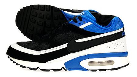 Nike Air Classic BW - Black / White / Blue Sapphire