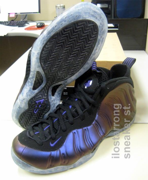 Nike Air Foamposite One Eggplant - Black / Varsity Purple