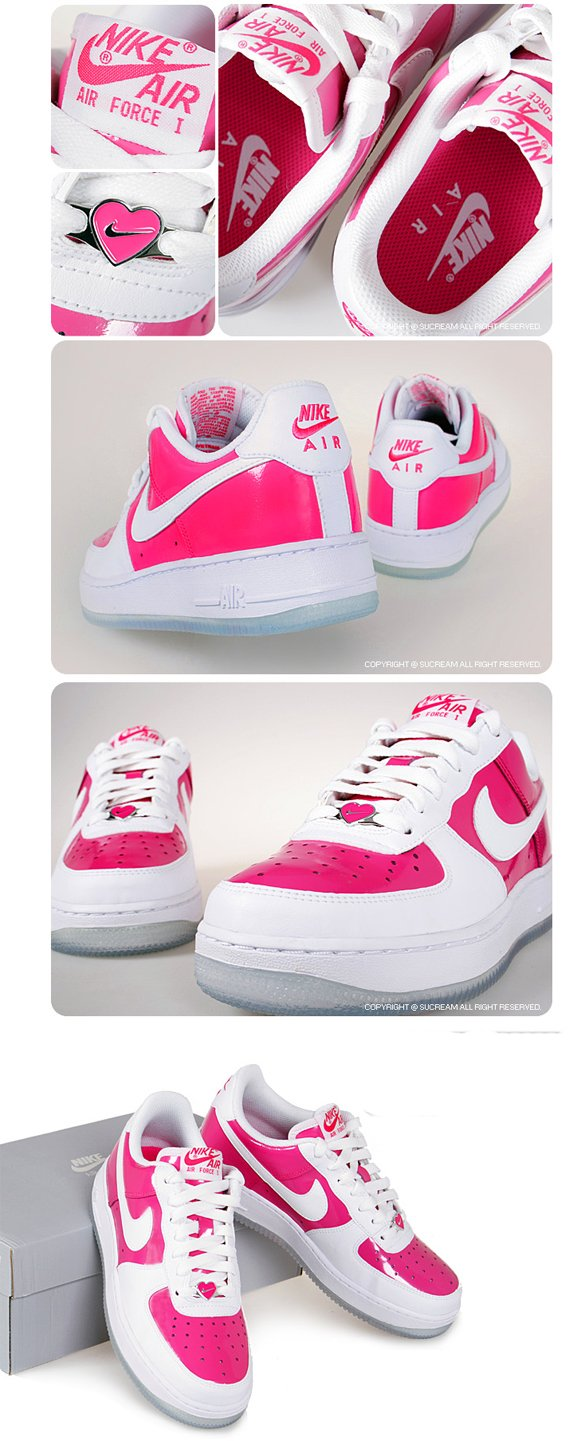 Nike Air Force 1 Grade School - Valentine's Day 2009