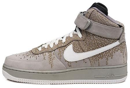 Nike Air Force 1 High Supreme Neutral Grey White